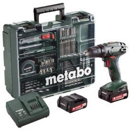 Metabo Aku vrtačka  BS 14.4 Set MD 2x2,0Ah