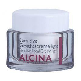 Alcina Jemný pleťový krém pro zklidnění a posílení citlivé pleti (Sensitive Facial Cream Light) 50 m