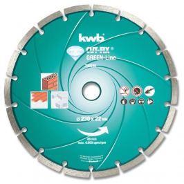 Disk řezný diamantový GREEN LINE 125cd KWB