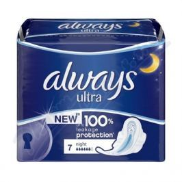 PROCTER GAMBLE DHV Always Ultra Night 7ks