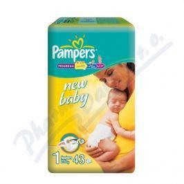 PROCTER GAMBLE Plenky Pampers New Baby NEWBORN vel. 1, 43 ks