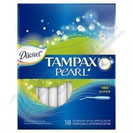 PROCTER GAMBLE DH tampóny Tampax Pearl Super 18ks