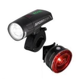 Sigma (MC Sport) Sada světel Sigma Sportster + Mono RL - černá