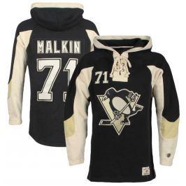 Old Time Hockey Pánská mikina s kapucí  Player Lacer Pittsburgh Penguins Jevgenij Malkin 71, S