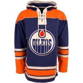 Old Time Hockey Pánská mikina s kapucí  Lacer Fleece NHL Edmonton Oilers, S