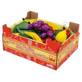 Dřevěné hračky pro holky - Kuchyně - Krabice s ovocem