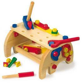 Dřevěné hračky - Ponk - Pracovní stůl Slon