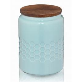 KELA Dóza MELIS keramika 0.8l pastelově modrá