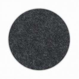 KELA Podtácek ALIA filc sada 4ks tmavě šedá