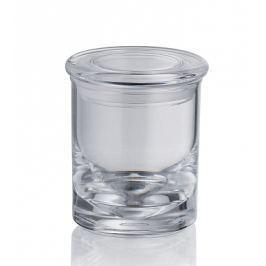 KELA Dóza s víčkem LETICIA akrylové sklo 6,5x7,5cm
