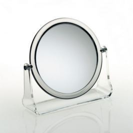KELA Kosmetické zrcátko LIA, akryl, 5x zvětšující