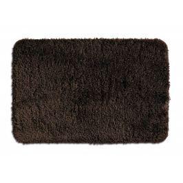 KELA Koupelnová předložka LIVANA 100% polyester 120x70cm hnědá