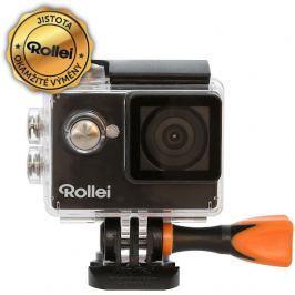 Rollei ActionCam 350 - 4K video 10 fps/ 1080/30 fps/ 140°/ 40m pzd./ Wi-Fi/ Čern