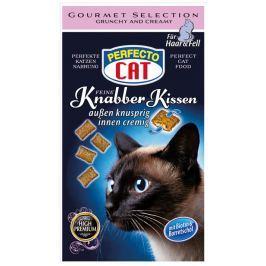 Perfecto Cat snack polštářky pro zdravou srst a kůži 50g, 9ks