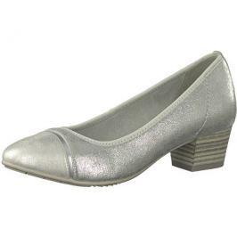 Jana Dámské lodičky 8-8-22300-20-941 Silver, 37