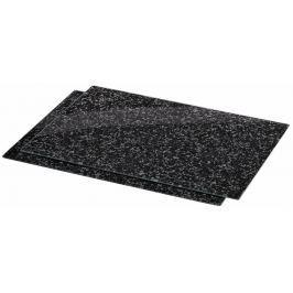 Xavax skleněné kuchyňské prkénko Granite, 52 x 38,5 cm, set 2 ks