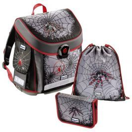 Baggymax školní aktovka - 3 dílný set  CANNY Pavouk