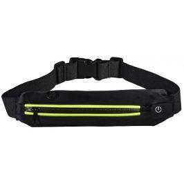 Hama Active sportovní ledvinka s LED, černá/žlutá