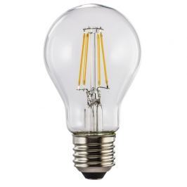 Xavax LED filament žárovka, E27, 4 W (=40 W), teplá bílá