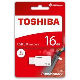 Toshiba 16GB USB Flash 3.0 U303 bílý