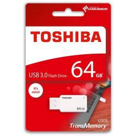 Toshiba 64GB USB Flash 3.0 U303 bílý