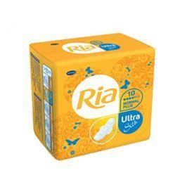 HARTMANN Ria Ultratenké hygienické vložky pro normální a silnější menstruaci Ultra Silk Normal Plus 10 ks
