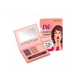 Misslyn Paletka tří očních stínů Eye-Mazing (Eyeshadow Set) 3 x 0,7 g, Kouřové šedobílé Přípravky pro péči o řasy a obočí