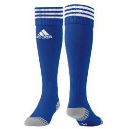Adidas Štulpny  Adisock 12, 40-42, bílá s modrými proužky Stulpny a ponožky