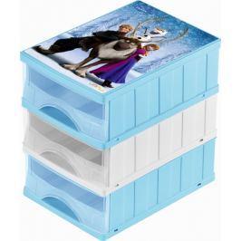 Keeeper Boxy na hračky - sada 3 šuplíků FROZEN Úložné boxy a vaky