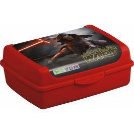 Keeeper Svačinkový box Star Wars  1 l - červený