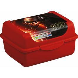 Keeeper Svačinkový box Star Wars 0,35 l - červený boxy na svačinu