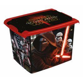 Keeeper Box na hračky, dekorační  Star Wars  20,5 l - černý