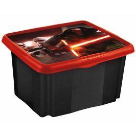 Keeeper Box na hračky Star Wars  45 l - černý Úložné boxy a vaky