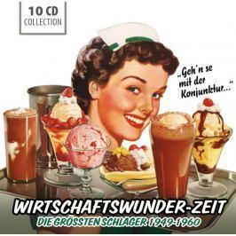 CD Wirtschaftswunder : Zeit 1949-1960 Hudba
