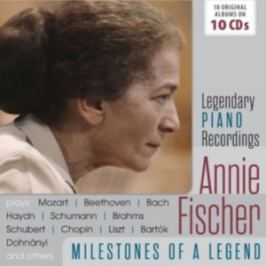 CD Fischer Annie : Milestones of a Piano Legend Hudba