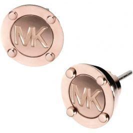 Michael Kors Pozlacené luxusní náušnice s logem MKJ2987791
