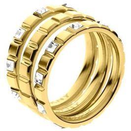 DKNY Zlatý skládací prsten NJ2120710, 56 mm Prsteny