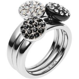 Emporio Armani Sada tří prstenů EGS1969040, 58 mm Prsteny