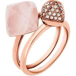Michael Kors Luxusní sada dvou prstenů MKJ5255791, 56 mm