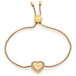 Michael Kors Pozlacený náramek se srdcem MKJ5389710