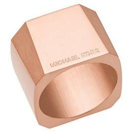 Michael Kors Masivní ocelový prsten MKJ5833791, 56 mm