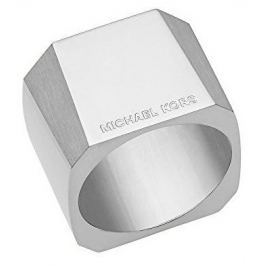 Michael Kors Masivní ocelový prsten MKJ5932040, 56 mm