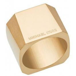 Michael Kors Masivní pozlacený prsten MKJ5832710, 56 mm