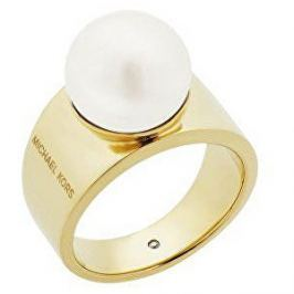 Michael Kors Dámský prsten s korálkem MKJ6671710, 57 mm