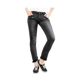 Q/S designed by s.Oliver Dámské černé kalhoty Slim délka 32, 36