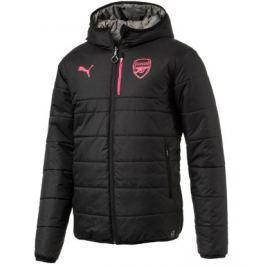 Puma Pánská bunda s kapucí  Reversible Arsenal FC černá, S