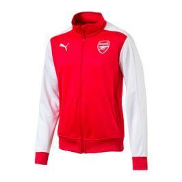 Puma Pánská bunda  Stadium Arsenal FC High Risk červeno-bílá, S