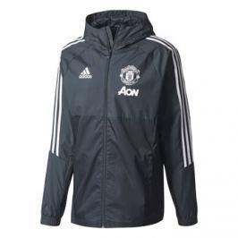 Adidas Pánská bunda  Manchester United FC šedo-černá, XL
