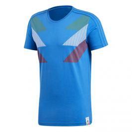 Adidas Pánské tričko  Country Identity Itálie modré, M