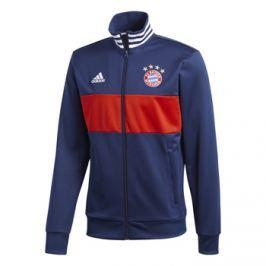 Adidas Pánská sportovní bunda  3S FC Bayern Mnichov tmavě modrá, S